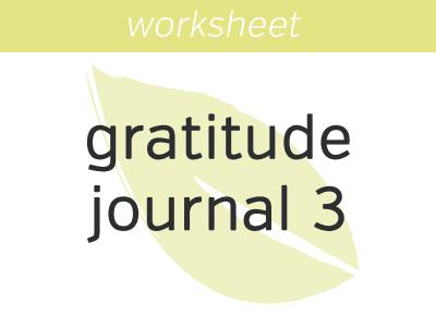 Gratitude Journal 3