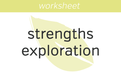 Strengths Exploration