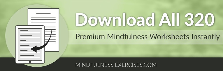 download premium mindfulness worksheets instantly