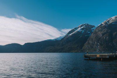 Laying Down Meditation And Visualizing A Lake