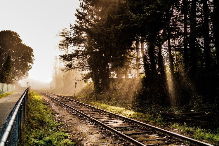 Visualization Of A Sleepy Train Ride