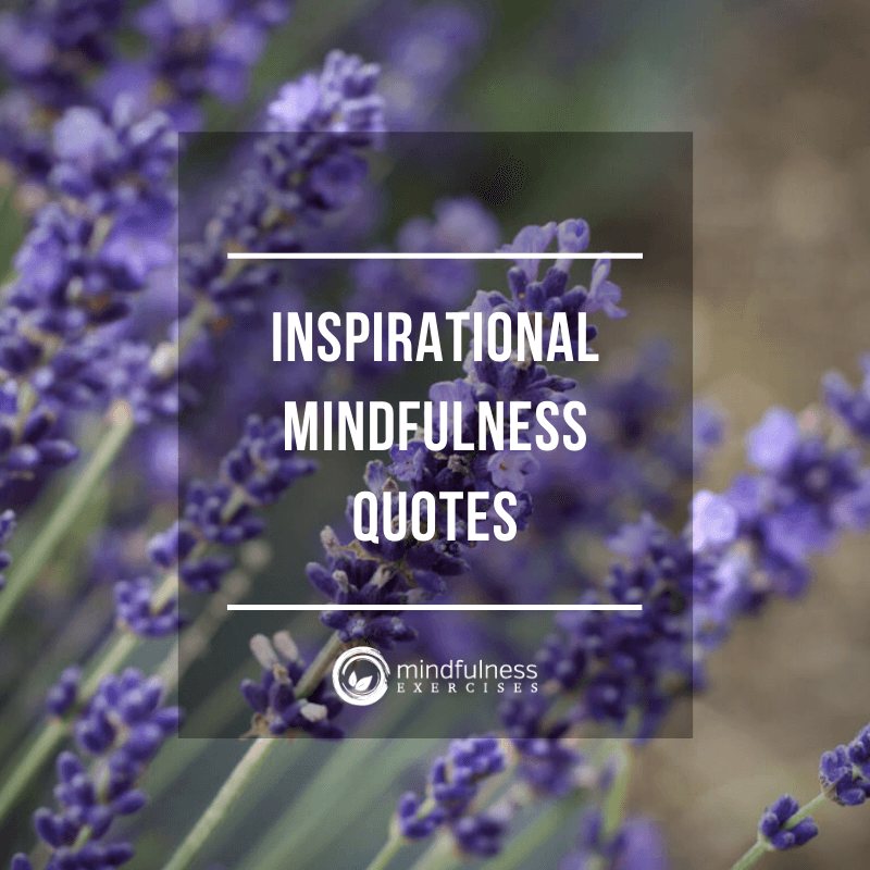 Inspirational Mindfulness Quotes and Images