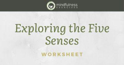 Exploring the Five Senses