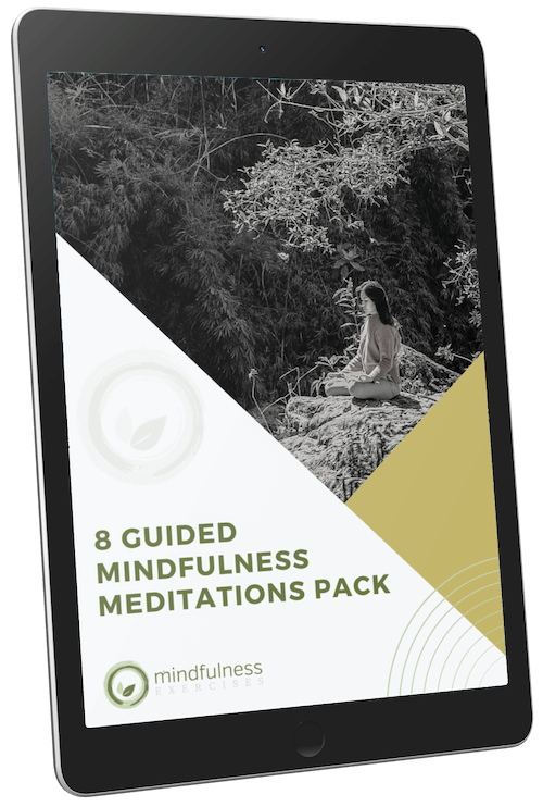 8 Guided Mindfulness Meditations Pack
