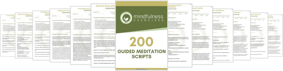200 guided meditation scripts